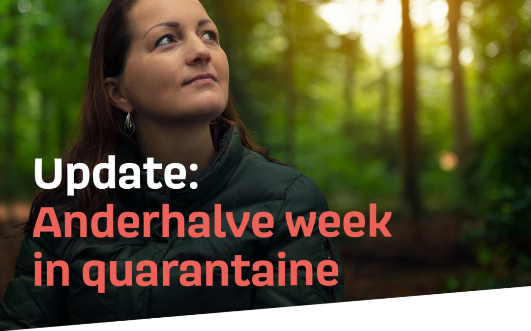 24 januari – 2 februari 2020 – Update: Anderhalve week in quarantaine